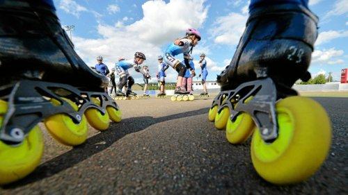 Gera: Auf Inline-Skates rollen
