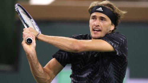 Zverev erreicht Viertelfinale bei Turnier in Indian Wells
