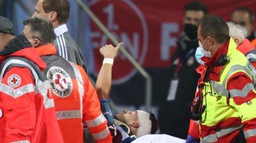 """Nürnbergs Krauß gibt """"Daumen hoch"""", Leibold am Knie verletzt"""