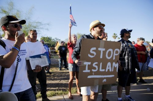 US city's first Muslim mayor struggles against anti-Islam sentiment