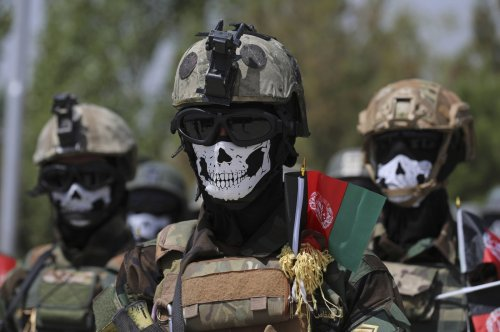 NATO launches military training for Afghan special forces in Turkey