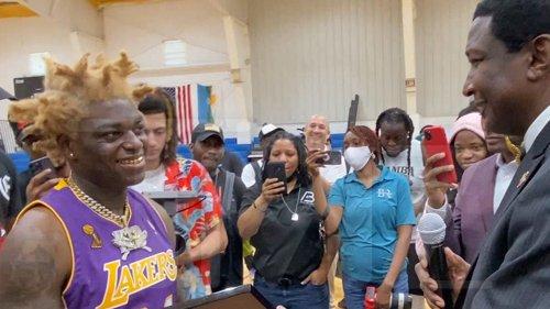 Kodak Black June 11 is My Day!!! Rapper Honored for Charitable Work