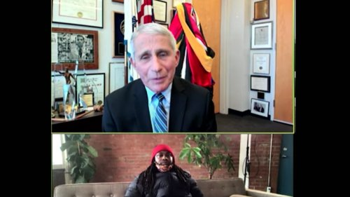 Marshawn Lynch Grills Dr. Fauci Over COVID Vaccine ... Will It F*** Us Up?!?