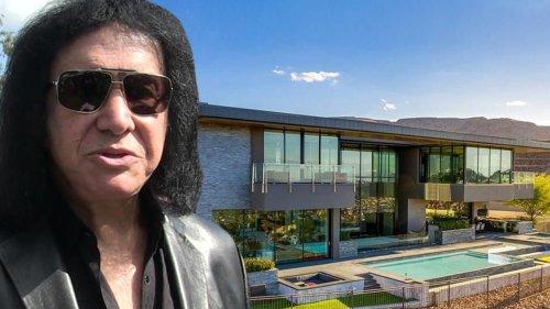 Gene Simmons Kissing CA Goodbye for $8.2 Million!!! Scoops Up New Vegas Pad