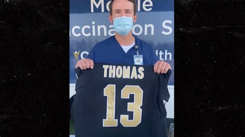 New Orleans Saints Offer Signed Jerseys For COVID Vaccines ... As Louisiana Cases Surge