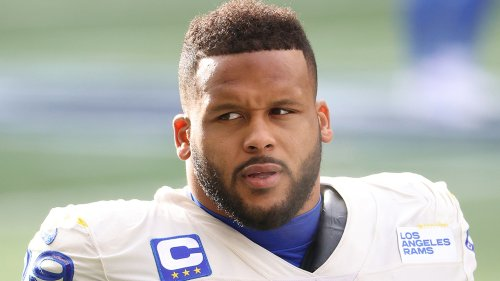 L.A. Rams' Aaron Donald NFL Superstar Accused of Assault Allegedly Bashed Man's Face