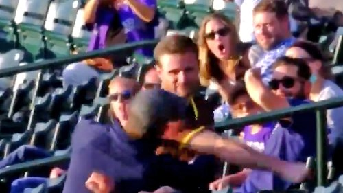 Padres Fan KO's Rockies Supporter With Violent Punch ... Caught On Video