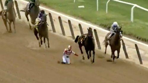 Irad Ortiz Jr. Horse Jockey Miraculously OK ... After Horrifying In-Race Fall