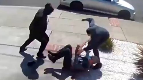 ASIAN HATE Elderly Man Attacked ... Cries Out For Help