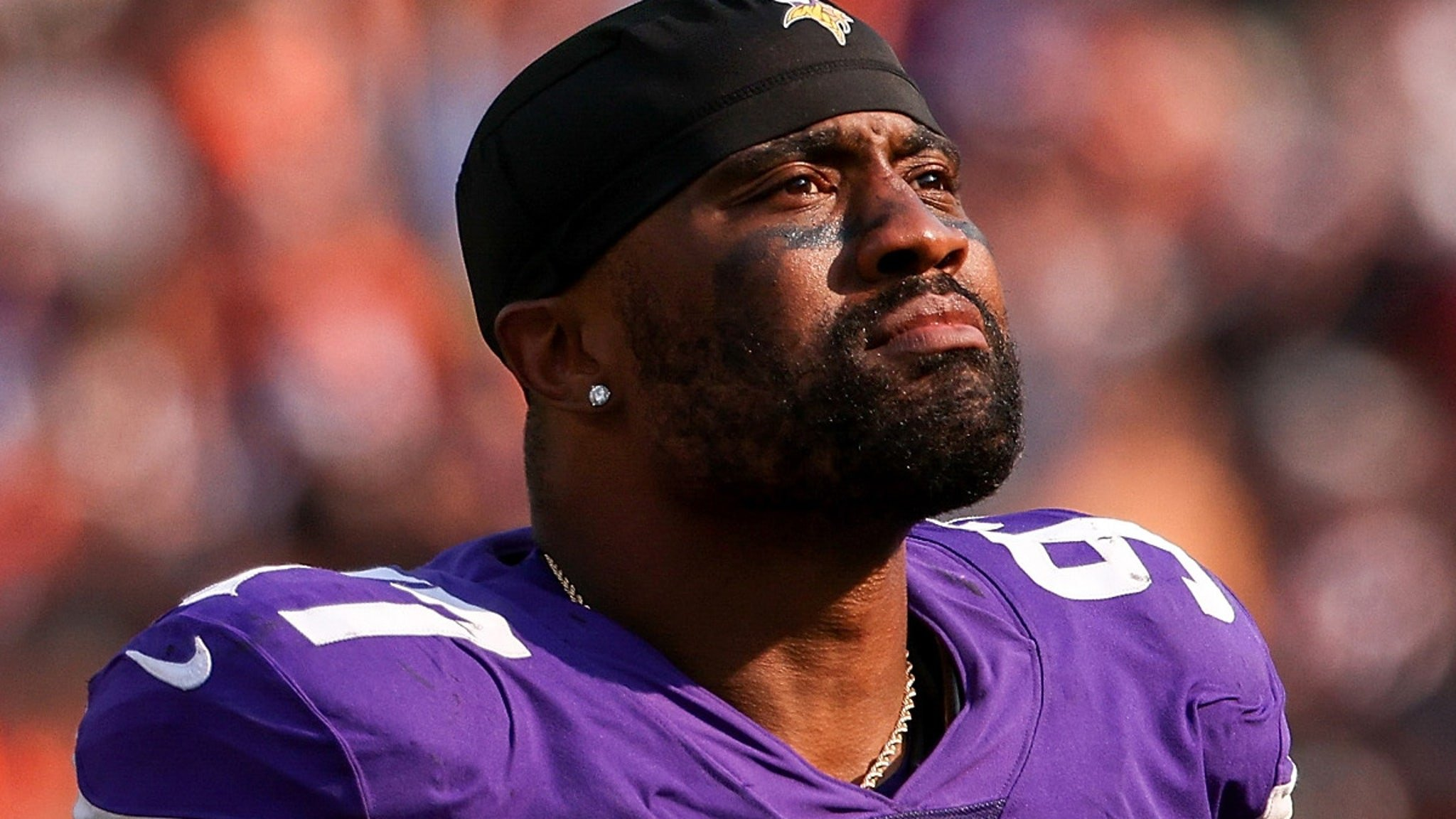Minnesota Vikings DE Everson Griffen Suffers Concussion After Swerving Car to Avoid Hitting Deer