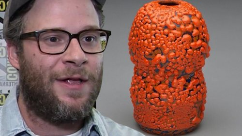 Seth Rogen Ceramic Vase Sells For Thousands ... New Hobby's Paying Off!!!
