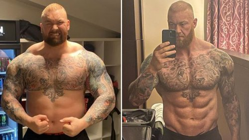 'The Mountain' Thor Bjornsson Shows Off Insane Transformation ... Ahead Of Boxing Match