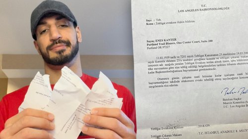 Enes Kanter Turkish President Erdogan Is Suing Me ... His 'Skin Is Thinner Than An Onion'
