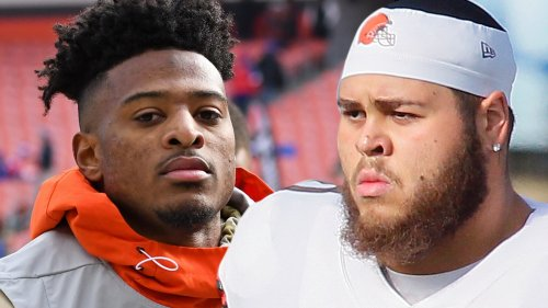 Rashard Higgins, Jedrick Wills Busted For Alleged Drag Racing Days Before Playoff Game