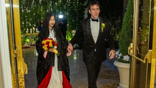 Nicolas Cage Gets Married for 5th Time ... To 26-Year-Old in Vegas