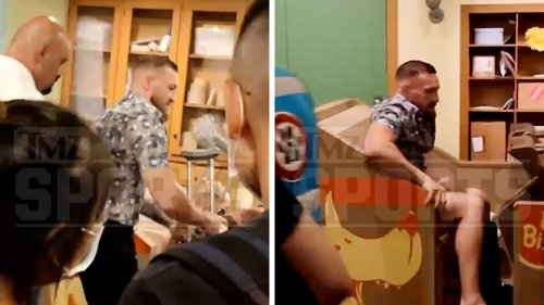 Conor McGregor Using Universal as His Crutch ... On Road to Recovery