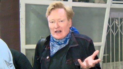 Conan O'Brien Jokes About Final Show, Future Show ... Parting Shot at Seth Rogen!!!