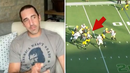 Aaron Rodgers 'Double Nut Shot' Caused Saints INT ... I'm Dead Serious!!!
