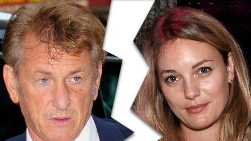 Sean Penn Actress Wife Files For Divorce