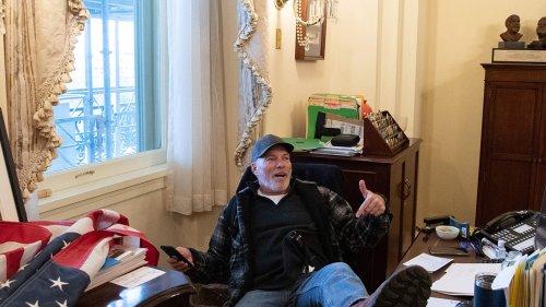 Capitol Riot Pelosi Desk Guy Lost Salesman Job ... Wants Longer Leash for New Gig
