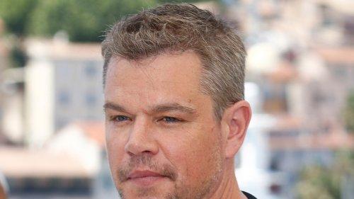 Matt Damon I've Never Called Anyone Homophobic F-Word