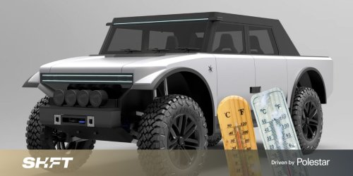 The Pioneer 4x4 is an EV with a range extender and a… fabric exterior?