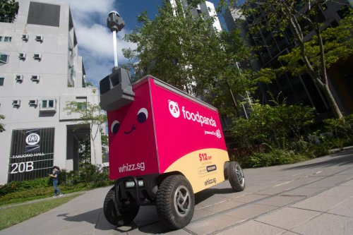Foodpanda to use robots to deliver food in NUS, NTU and Punggol
