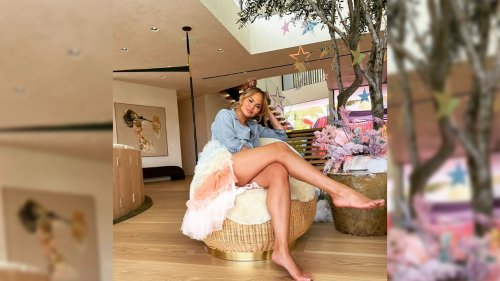 Chrissy Teigen's new house has the sweetest tribute to her late son, Jack