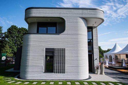 In Beckum eröffnet: Das ist das erste Wohnhaus Deutschlands aus dem 3D-Drucker