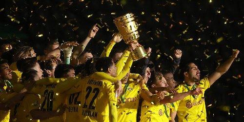 Borussia Dortmund schlägt RB Leipzig 4:1 und ist zum fünften Mal Pokalsieger