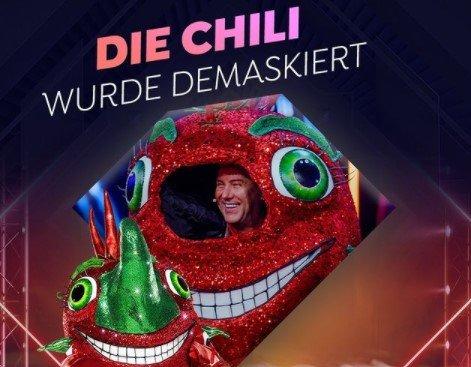 """The Masked Singer"": Jens Riewa war die Chili"