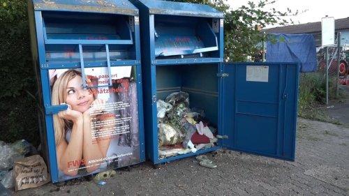 25-Jährige in Bayern tot aufgefunden – wieder stirbt ein Mensch im Altkleidercontainer