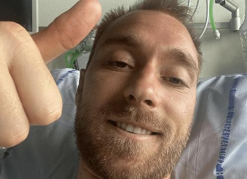 "Christian Eriksen meldet sich aus dem Krankenhaus: ""Mir geht's gut"""