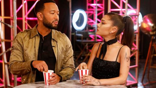 The Voice Recap: Ariana Grande and John Legend Storm Off Set as Blake Shelton and Kelly Clarkson Fight