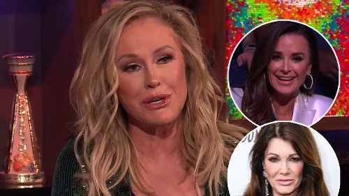 Kathy Hilton On Where She Stands with Lisa Vanderpump After Kyle Richards Feud