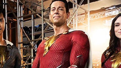 New Shazam Photo Reveals New Superhero Costumes and Casting Changeup