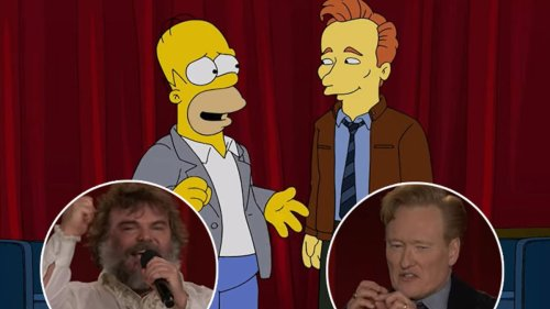 Conan Says Goodbye to Late-Night -- Plus, Homer Simpson's Exit Interview and Jack Black's Epic Farewell Song