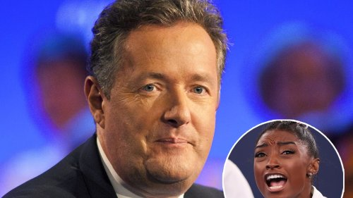 Celebs Fire Back After Piers Morgan Drags Simone Biles for Pulling Out of Olympics