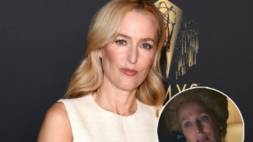 The Crown's Gillian Anderson Asked If She Talked to Long-Dead Margaret Thatcher About Crown Role