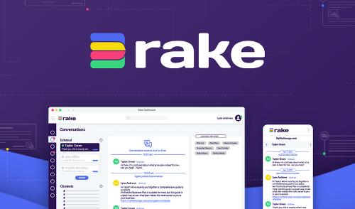 Piattaforma web all-in-one che combina messaggistica e collaborazione, Rake in lifetime