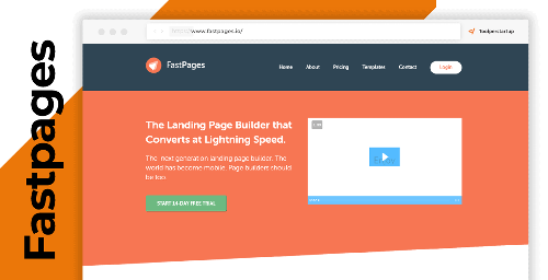 Come creare landing page veloci, Fastpages