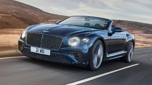 The Bentley Continental GT Speed Convertible hits 208mph