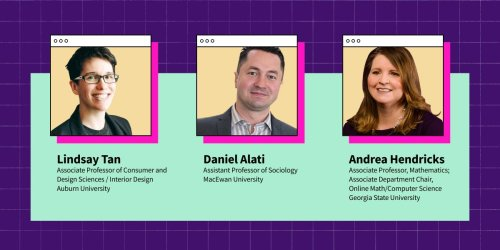 These 3 Professors Offer Their Advice for Online Teaching in the Fall