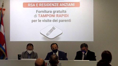 RSA, riapertura probabile per metà maggio: tamponi gratuiti ai parenti degli ospiti