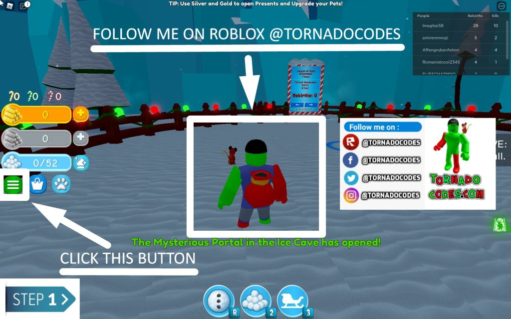 TornadoCodes.Com - Get Free Roblox Promo Codes, Promotions and Robux - cover