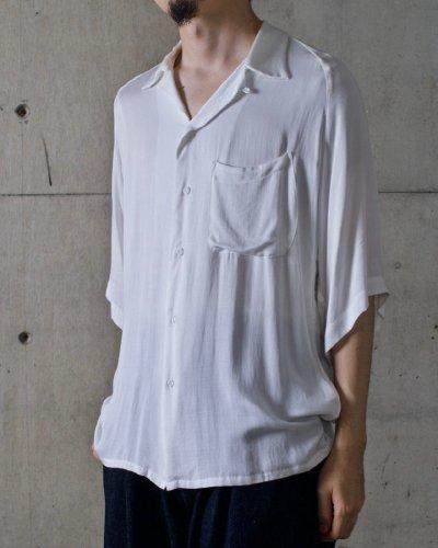 aloha shirt / white / ¥27,000+tax