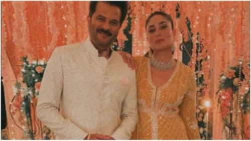 Kareena Kapoor and Anil Kapoor look their ethnic best in new pic. Actress calls them OGs