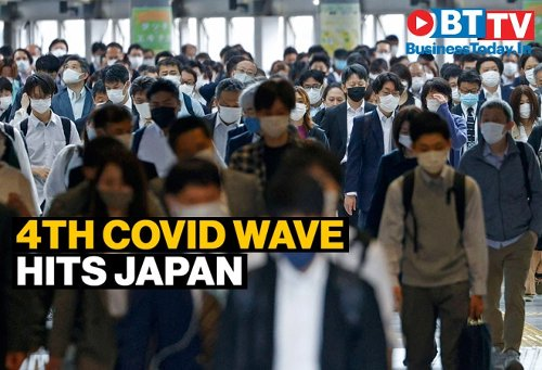 Fourth COVID wave hits Japan with more infectious variants