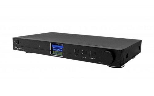 De Soundmaster IR45SW tuner houdt zich zowel analoog als digitaal staande
