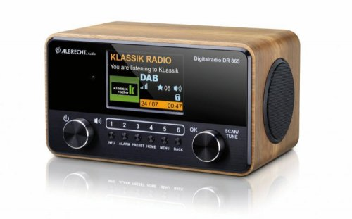 De Albrecht DR-865, een ideale seniorenradio met FM, DAB+ en Bluetooth